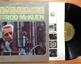 Rod McKuen - Greatest Hits of (1969) Vinyl LP  Best of, Seasons in the Sun