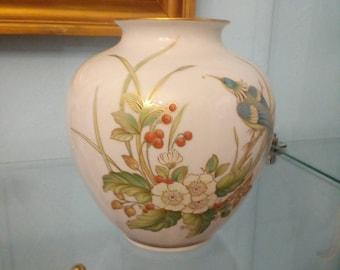 Hand painted vase 28 cm large kaiser porcelain beautiful painting