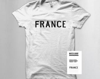 George Harrison's vintage France T shirt (white only)