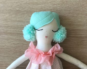 Mermaid doll- mermaid birthday-mermaidparty- mermaid tail