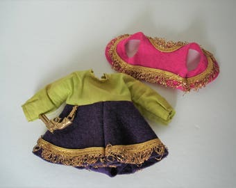 Vintage Ginny Vogue Dolls Merry Moppets (1955)  #38 Cowgirl Outfit