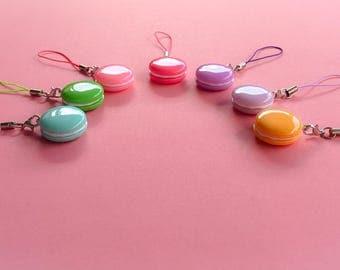 Macaron Phone Charms
