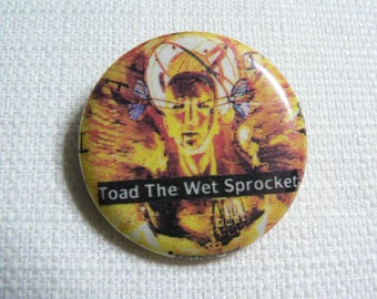 Vintage 90s Toad the Wet Sprocket - Fear Album (1991) Pin / Button / Badge