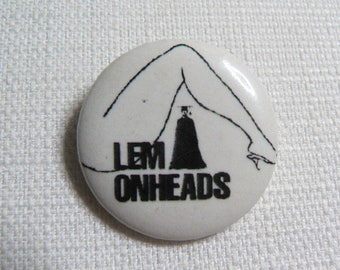 Vintage 90s Lemonheads - Mrs. Robinson Single (1992) Pin / Button / Badge