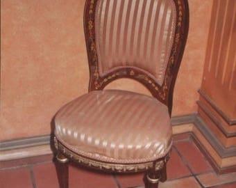 Baroque Chair Rococo antique style MoCh06684