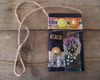 BOHO BORO bag for your mobile or other little tings