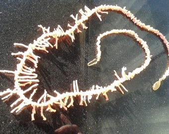 Spiny Branch Coral Necklace 16 in.