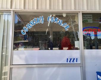 Store Front Decals