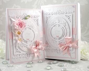 Boxed Birthday Card, Luxury Handmade Birthday Card, Personalised Birthday Card, 18th/21st/30th/40th/50th/60th/70th/80th/90th Birthday Card