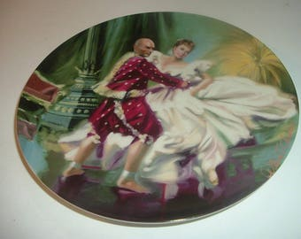 1984 Edwin Knowles The King and I Shall We Dance Plate