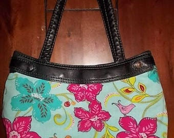 New Thirty-one Purse Skirt for Small Purse Colorful Birds of Paradise 31 Gifts