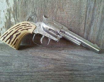 Vintage Kusan, Inc. Nashville TN metal Toy Gun