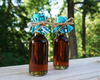 Mini Maple Syrup Favors for Wedding Gifts, Bridal Showers, Baby Showers and More!