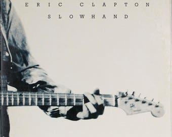 Eric Clapton Slowhand Original 1977 RSO Vintage Vinyl Record LP