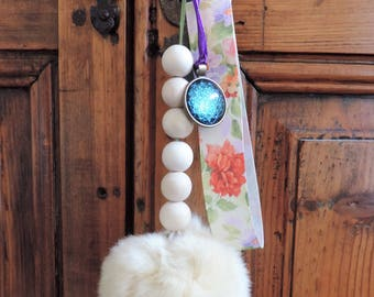 Keychain, grigri, jewelry bags