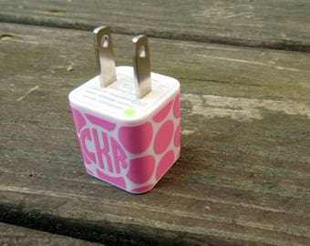Patterned iPhone Charger Decal