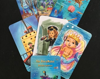 The StoryMaker Create A Story Cards - Underwater