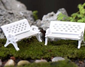 Bench miniature mini garden mini terrarium