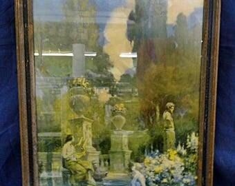 1927 Print LOVE'S APPEAL by Verdelti