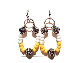 Tribal Circle Earrings