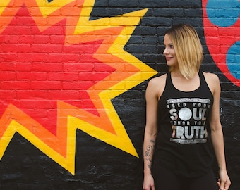 Feed Your Soul Honor Your Truth Ladies Yoga Tank