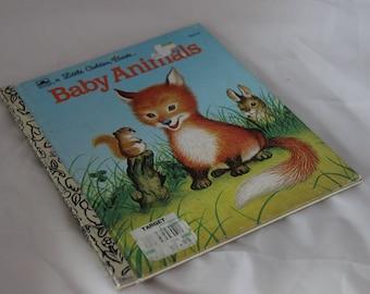 Little Golden Book Baby Animals