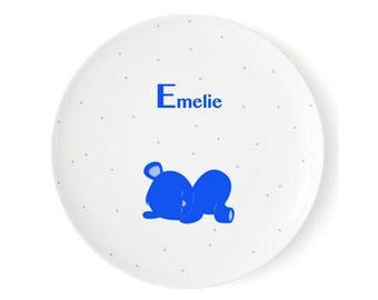 Children's meals with names, Melamine