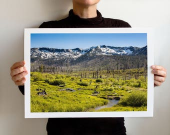 Tahoe Art Print: South Tahoe 2281, Art Print, California