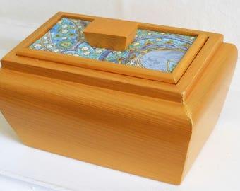 Paisley pattern/Paisley Decorative/Wooden/jewellery/storage Box