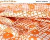 Closing Sale Papel Picado Naranja -Fiesta Fun Collection by Dana Willard for Art Gallery Fabrics - Quilting Weight Cotton