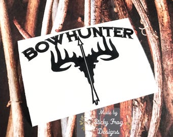 Hunting Decals Etsy - Hunting decals for truckshuntingfishing window decals in white or camouflage at woods
