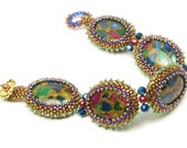 Jasperine Bead Weaving Peyote Stitch Beaded Bracelet Kit Ann Benson