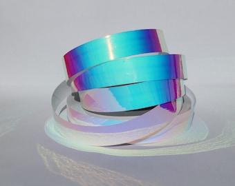 "1"" Blue Sunrise Translucent Color Morph Tape - 150, 100, or 50ft Rolls - Craft Tape - Decorative - Hula Hoop Tape - Hula Hoop Supplies"