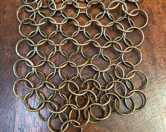 Vintage Chain Mail Pot Scrubber