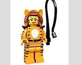 Lego Tiger Woman Minifig Magnet or Push Pin/Thumb Tack Your Choice