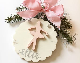ballet dancer ornament