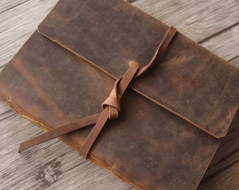 Distressed Leather Journal, Notebook Sketchbooks, Diary Journal, Daily Planner, Leather Notebook Covers Journal, custom initials