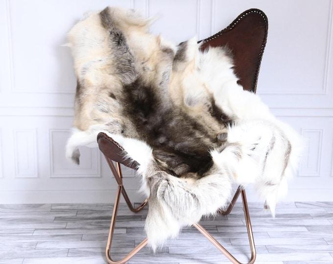 Reindeer Hide | Reindeer Rug | Reindeer Skin | Throw XL  Large - Scandinavian Style #15RE32