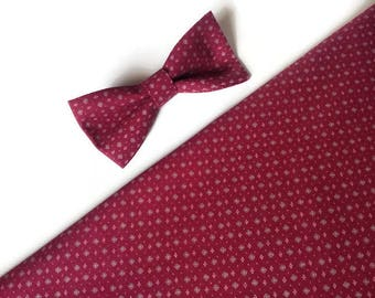 burgundy wedding ties bow ties groomsmen gift for boyfriend gift 30th birthday for him gift for husband on wedding day gift for groom djfh5