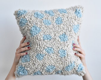 Handmade Polka Dot Pillowcase