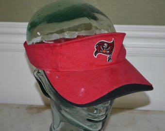 Retro Tampa Bay Bucaneers  Adjustable Visor Baseball Cap Hat (One Size Fits All)