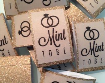 Mint to be Custom design - Wedding Initial - Wedding Favor Mints- Lifesaver Mints - 1 MINT per package