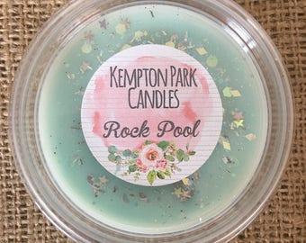 Rock Pool Scented Soy Wax Melt Pot