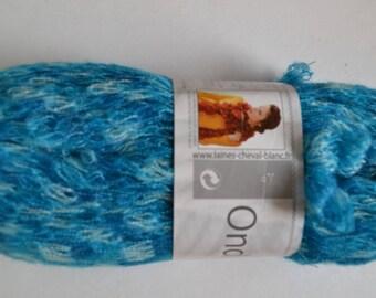 Pincushion ONDINE de U.T.E yarn for scarf 013