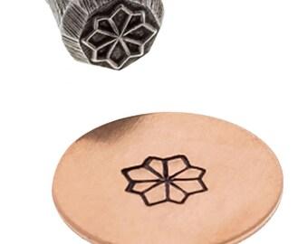Traditional Flower Floral Stamp Jewelry Making Metal Marking Stamping Tool - PUN-102.39