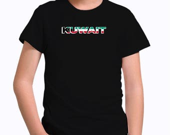 Kuwait country flag Children T-Shirt