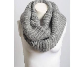Womens Knit Infinity Scarf, Cable Knit Infinity Scarf, Scarf, Knitted Scarf, Chunky Scarf, Cable Knit Infinity Scarf, Accessory