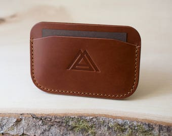 Leather Card Wallet, Everyday Carry, Card Holder, Mens Wallet, Leather Wallet, Minimalist Wallet, Handmade Wallet, Leather Wallet Mens
