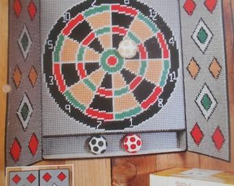 Vintage Dart Board Etsy