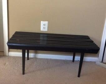 Mid Century Modern Slate Table
